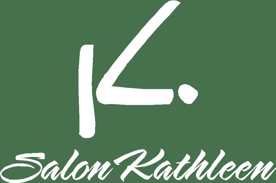 Salon Kathleen logo-white